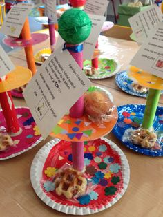 Koekjes en cake houder Moederdaggeschenkje 2014