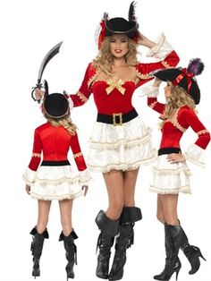 Pirate girl inspired Halloween fancy dress costume by Smiffy`s costumes . Pirate Fancy Dress, Halloween Fancy Dress, Costume Dress, Dress Up, Costumes, Inspired, Inspiration, Dress, Biblical Inspiration