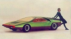 1968 Alfa Romeo Carabo 2 Maintenance/restoration of old/vintage vehicles: the material for new cogs/casters/gears/pads could be cast polyamide which I (Cast polyamide) can produce. My contact: tatjana.alic14@gmail.com