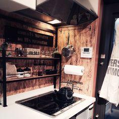生活感/DIY/ステンシル/男前/DIY看板/ディスプレイ…などのインテリア実例 - 2015-04-05 23:42:24 | RoomClip(ルームクリップ)
