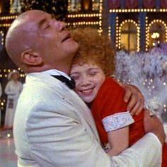 "Albert Finney and Aileen Quinn, ""Annie"" (1982)"