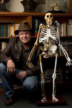 Australopithecus sediba - MH1 & Lee Berger