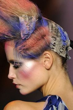 Galliano for Dior GET LISTED TODAY! http://www.HairnewsNetwork.com  Hair News Network. All Hair. All The time.