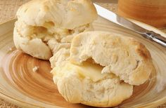 Low-Fat Angel Biscuits Recipe via @SparkPeople - read comments for yummy variations!