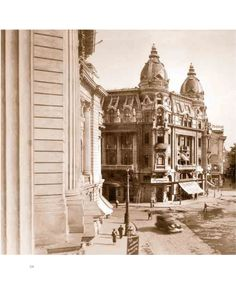 Calea Victoriei in perioada interbelica Communism, Bucharest, Time Travel, Big Ben, Taj Mahal, Traveling, Lost, Memories, Architecture