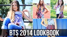 Back to School 2014 Lookbook & Outfit Ideas!