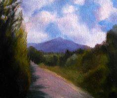 Irish landscape  Irish Landscape painting  Irish Art