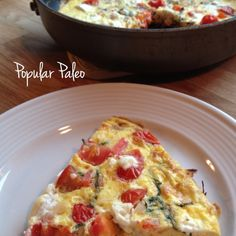 Who doesn't love a good frittata?  @ Popular Paleo