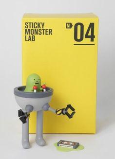 M04 FINK Vinyl Figure - Sticky Monster Lab by Sticky Monster Lab. $64.95