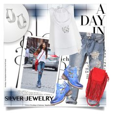 """A Day in L.A."" by clotheshawg ❤ liked on Polyvore"