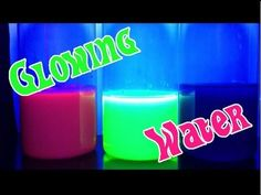 ▶ Easy Kids Science Experiments Glowing Water - YouTube