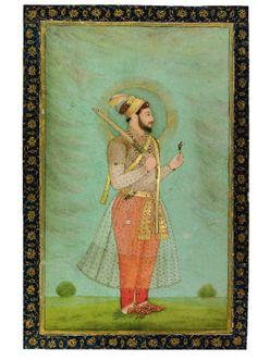 Prince Dara shukoh 18th century.. Mughal india