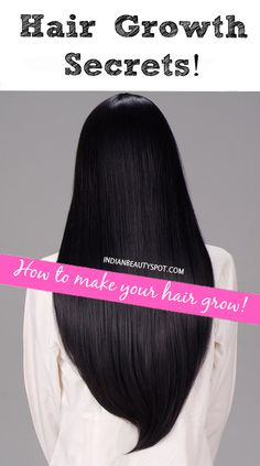 Hair Growth Secrets! Wash less, condition, trim, air dry, coconut oil treatments, silk pillowcases, don't brush, comb, protect, nutritional food.