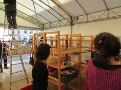 #Altrocioccolato 2013 - Allestimento dello stand di LiberoMondo gestito in collaborazione con i volontari delle botteghe Il Colibrì (Umbertide) e Piano Terra (Orvieto). Grazie a tutti per il gran lavoro.