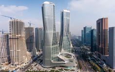 UNStudio's mixed-use Raffles City  Hangzhou, China, 2008–2017