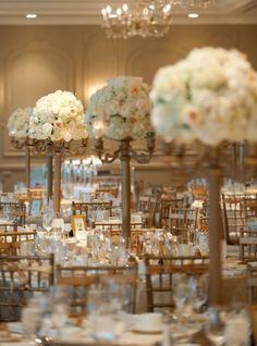ROMANTIQUE WEDDING RECEPTION DECORATIONS | Tall Wedding Centerpiece Ideas Archives | Weddings Romantique
