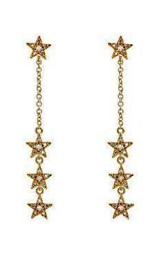 Simple Gold Pearl Drop Earrings Dangle Earrings Meaning
