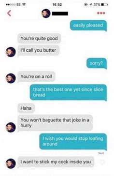 Funny adult tinder chats