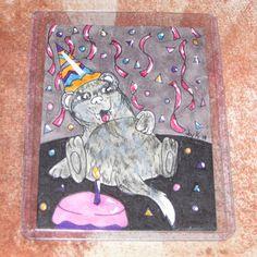 Party Ferret by FerretJAcK on DeviantArt Mini Paintings, Us Shipping, Ferret, Kids Rugs, Art Cards, Joy, Deviantart, Gallery, Party