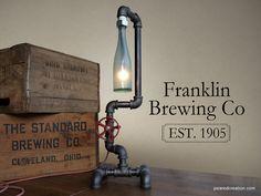 Industrial Beer Lamp