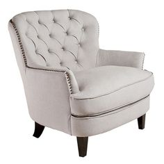 I pinned this Loft Tufted Club Chair from the Jill Sorensen event at Joss & Main!
