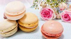 4 recepty na MAKRONKY! Tradiční, svatební, s nutellou nebo rozinkami, zkuste je všechny! Macarons, Nutella, Panna Cotta, Cheesecake, Cupcakes, Lunch, Ethnic Recipes, Food, Gardening