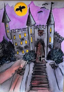 Tekenpraktijk De Innerlijke Wereld: Spookkasteel