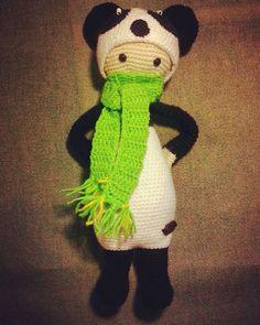 Панда Lalylala #амигуруми #игрушкиручнойработы #вязаныеигрушки #вязание #вязаныеизделия #handmade
