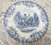 Johnson Brothers Coaching Scenes Dinner Plates