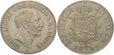 Braunschweig-Calenberg-Hannover Ernst August 1837-1851. Taler 1846 A Sehr schön - vorzüglich