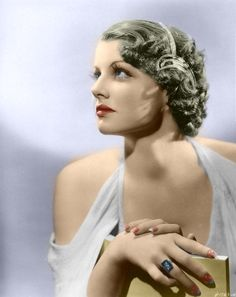 Colorized by Luiz Adams. Vintage Movie Stars, Old Movie Stars, Classic Movie Stars, Vintage Movies, Old Hollywood Movies, Golden Age Of Hollywood, Classic Hollywood, In Hollywood, Ann Sheridan
