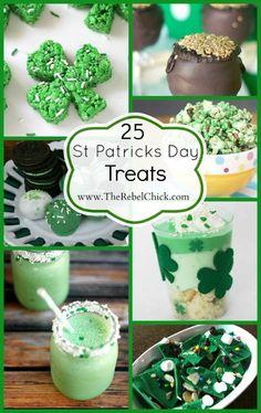 Kiss Me, I'm Hungry! 25 Saint Patrick's Day Recipes – Demos Holiday Treats, Holiday Recipes, St Patricks Day Food, Saint Patricks, Fete Saint Patrick, Irish Recipes, Irish Desserts, Saint Patrick's Day, St Patrick Day Treats