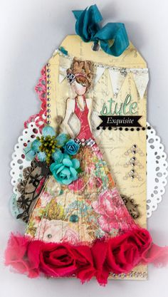 Creative Mayhem: Selection of My Best Work using Prima papers and products.