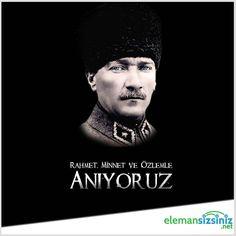 Vefatının 78'inci yıldönümünde Gazi Mustafa Kemal Atatürk'ü rahmet, minnet ve özlemle anıyoruz.