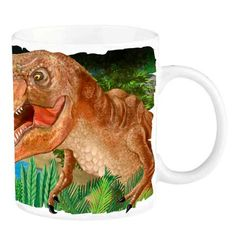 Taza mágica – Dino World Mugs, World, Gifts For Children, Tumblers, Mug, The World, Cups