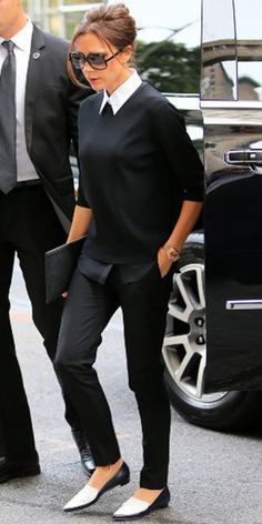 Prenez une leçon de style avec Victoria Beckham !