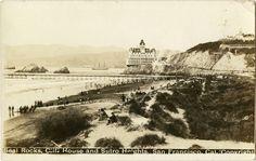 Cliff House - San Francisco, CA.  Postcard.