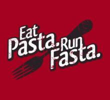 I'm a new runner and it seems as though I run out of energy pretty quickly! A nice bowl of pasta loaded with veggies is exactly what i need to power through!! (Eat Pasta. Run Fasta. by aaronarthur) #pastafitsme