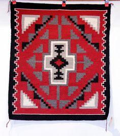 01 - Navajo Textiles, Navajo Indian Rug: Ganado Red 1970, Handspun wool Classic Blankets, Indian Territory, Native American Patterns, Saddle Blanket, Navajo Rugs, Indian Rugs, Aztec, Jewelry Art, Baskets