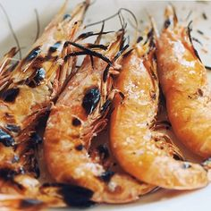 Chargrilled Prawns with Lime
