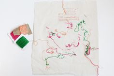 hmr : evie barrow: stitch samples