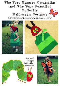 Books, Babies, and Bows: The Very Hungry Caterpillar and Beautiful Butterfly Costume