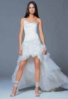 Dicas e idéias para o seu dia a dia: Vestido de noiva mullet …
