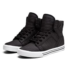 SUPRA SKYTOP | BLACK / GREY / GOLD - WHITE | Official SUPRA Footwear Site