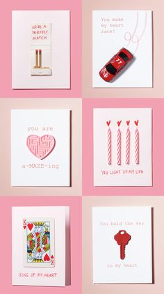 relationships are complicated enough. here are some simple home made cards for your sweet heart.