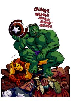 Hulk Colors by *LostonWallace on deviantART