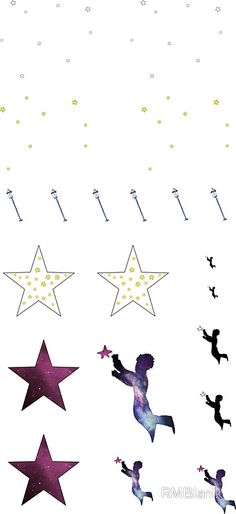 the little prince - sticker set A