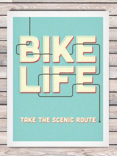 Bike-Inspired Posters by Phoenix Designers - Jackalope Ranch