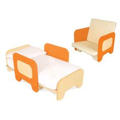 Convertible Toddler Bed/Chair • Snob Essentials