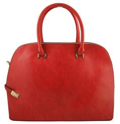 """Lola Women's Elegant Tote bag Doctor Style With Snake Finish (RED). Strong Faux Leather material. Double Rolled Handle has a drop of approximately 6"""". Attachable strap is adjustable to a drop of 25"""". Hardware:Gold-colored brass hardware extremely highlights the elegance of bag.Its high quality zipper has high resistance to rust,corrosion and tarnishing.Shiny as a new one even years later. 1 outside pocket that is big enough for a cell phone and some more. This stylish shoulder bag fits..."""